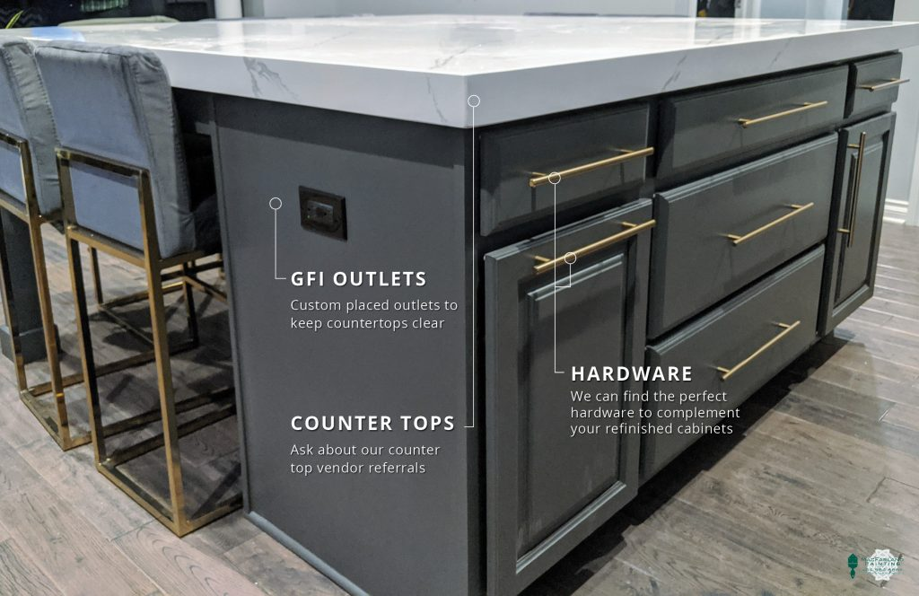 GFI Outlest, Counter Tops & Hardware